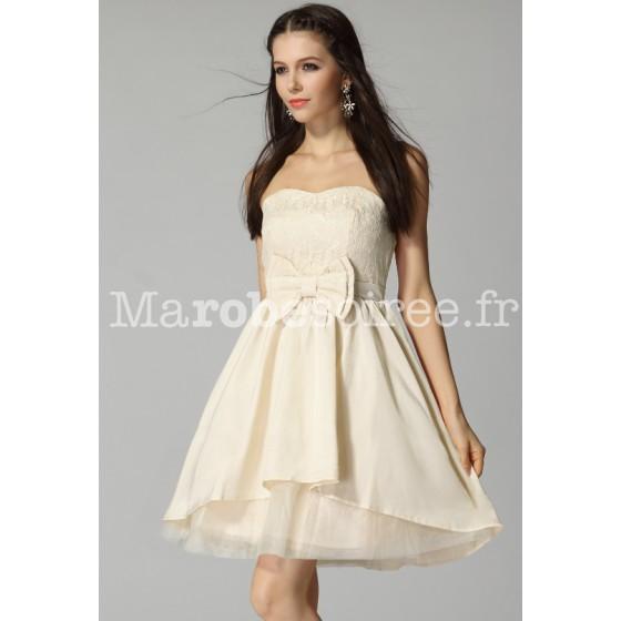 Babydoll robe courte f rique sans bretelles pas cher pour for Robes sans bretelles pour les mariages