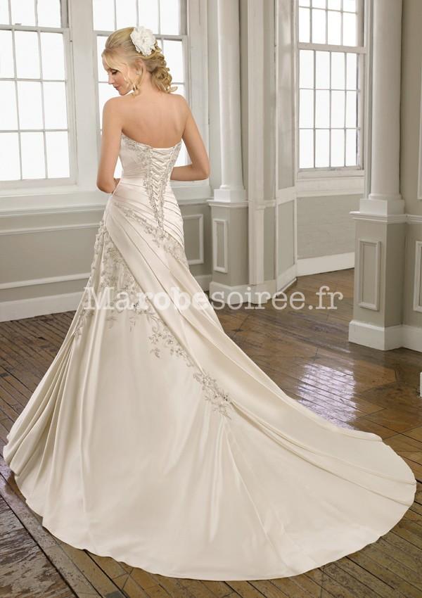 Coline , robe de mariée robe de mariage évasée 165