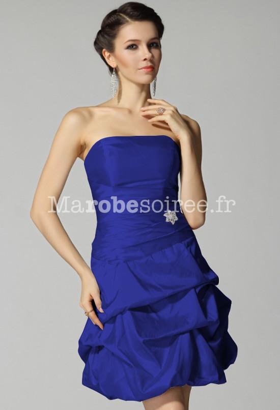 Robe soiree pour mariage bleu
