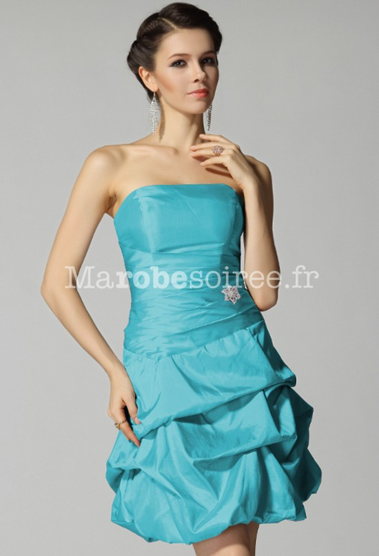 Robes bleue turquoise