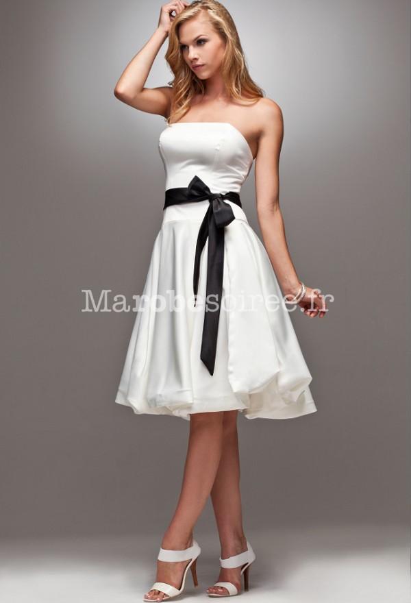 lisa robe de soiree c r monie avec ceinture sur mesure 4070. Black Bedroom Furniture Sets. Home Design Ideas