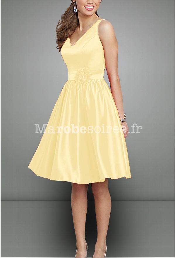 Robe de soir e whitney en satin duchesse esprit r tro des for Robe couleur pastel pour mariage