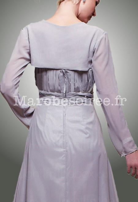 bol ro pour robe bustier en mousseline gilet cache paule sur demande. Black Bedroom Furniture Sets. Home Design Ideas