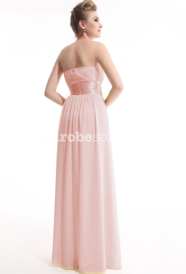robes de mode robe soiree longue rose pale. Black Bedroom Furniture Sets. Home Design Ideas