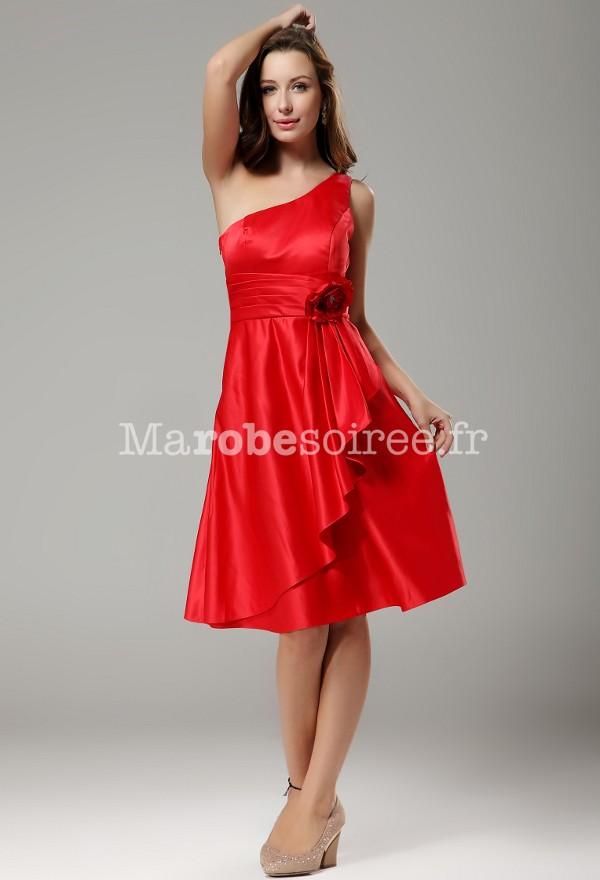 wily , robe de soirée épaule asymétrique 9633
