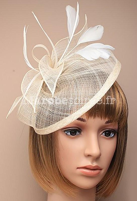 Petit chapeau bibi chic et original for Des chapeaux pour les mariages