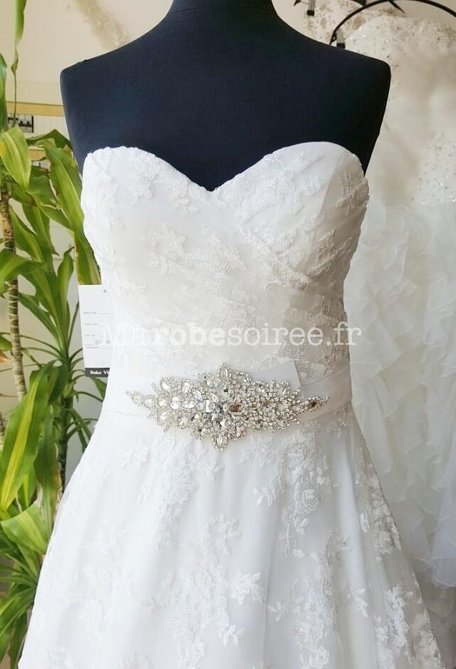ceinture en strass pour une robe de mairée 14dbdd1bbaa