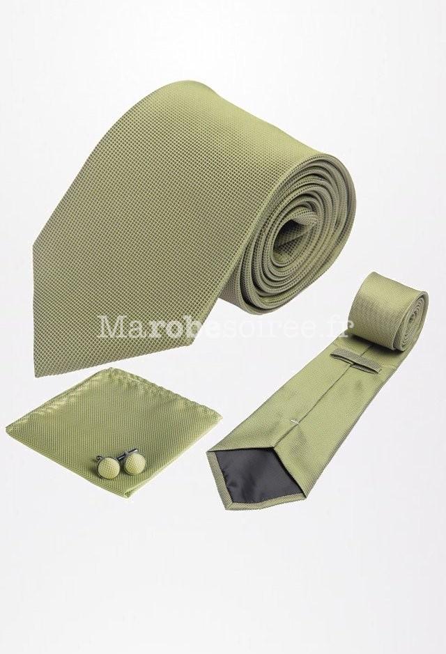 cravate boutons manchettes tons vert. Black Bedroom Furniture Sets. Home Design Ideas