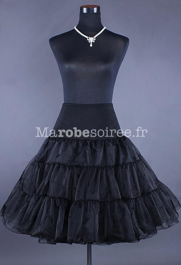 jupon noir pour robes mi longue style vintage. Black Bedroom Furniture Sets. Home Design Ideas
