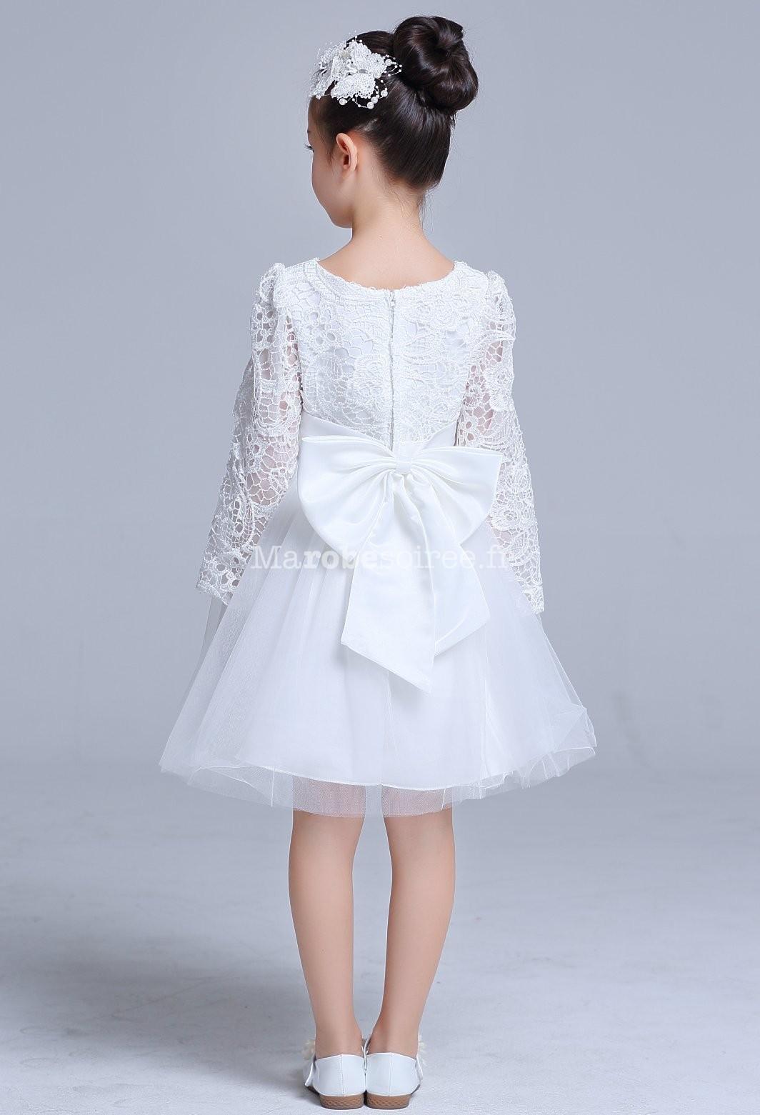 robe blanche b b fille pour bapt me. Black Bedroom Furniture Sets. Home Design Ideas