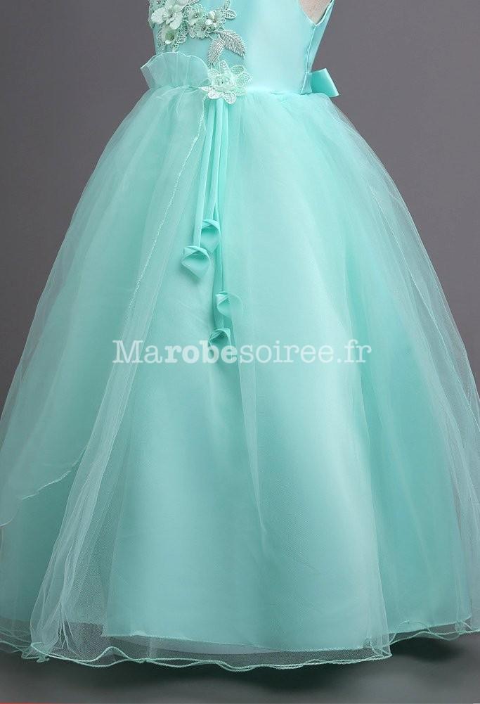 b7cc1f77a99 Robe longue enfant pour mariage ...