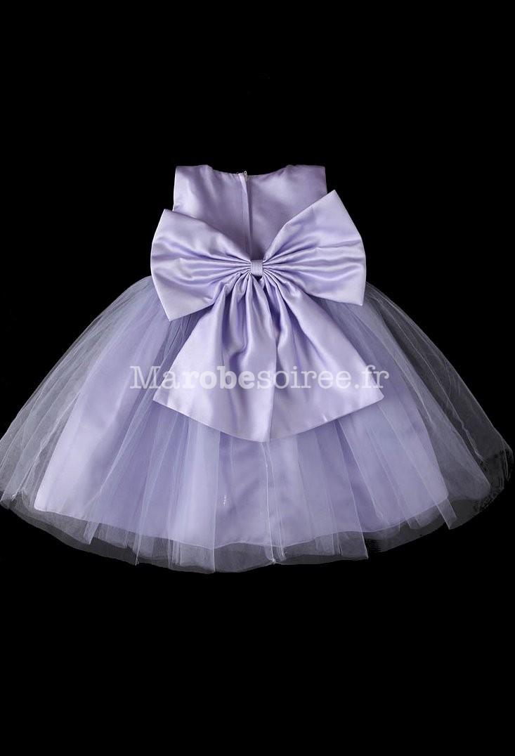 Robe blanche asym trique ceinture perle for Robe de lavande pour mariage