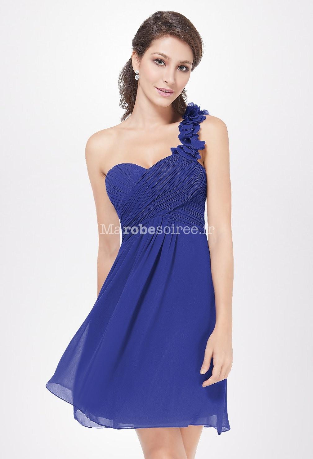 Robe la mode robe soiree courte asymetrique for Robes de mariage kohl