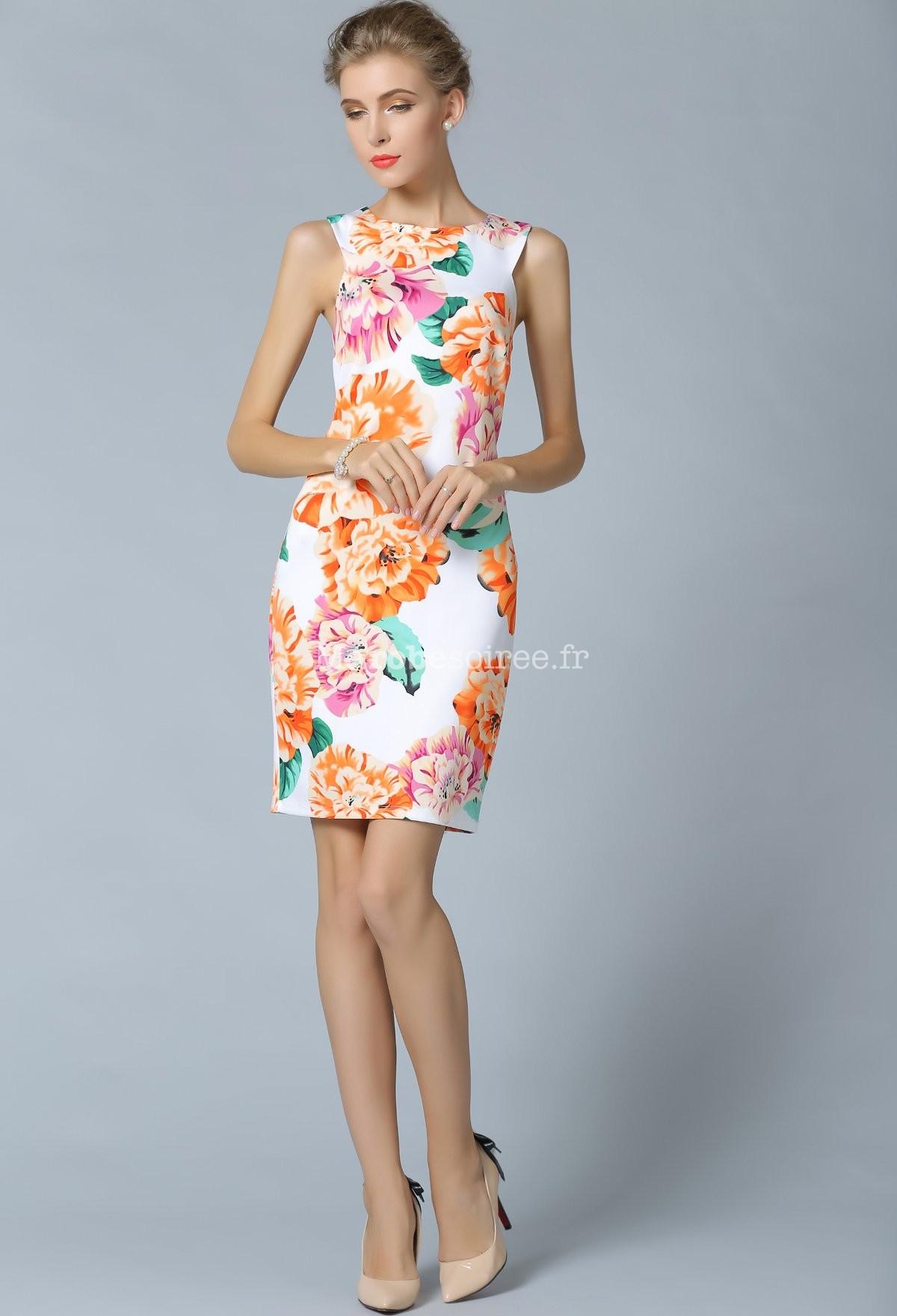 Model de reve robe droite