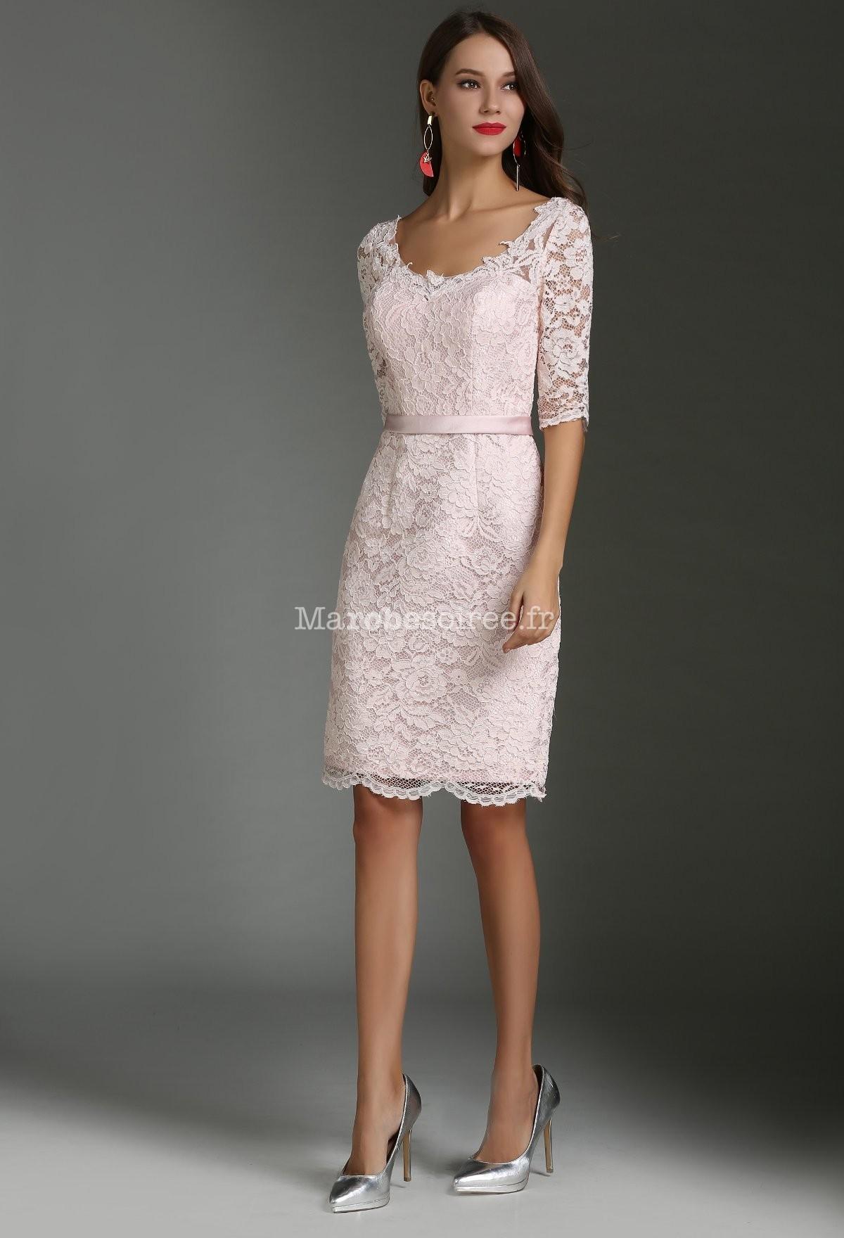 El gante robe fourreau fine et souple dentelle for Plus la taille des robes de mariage formel