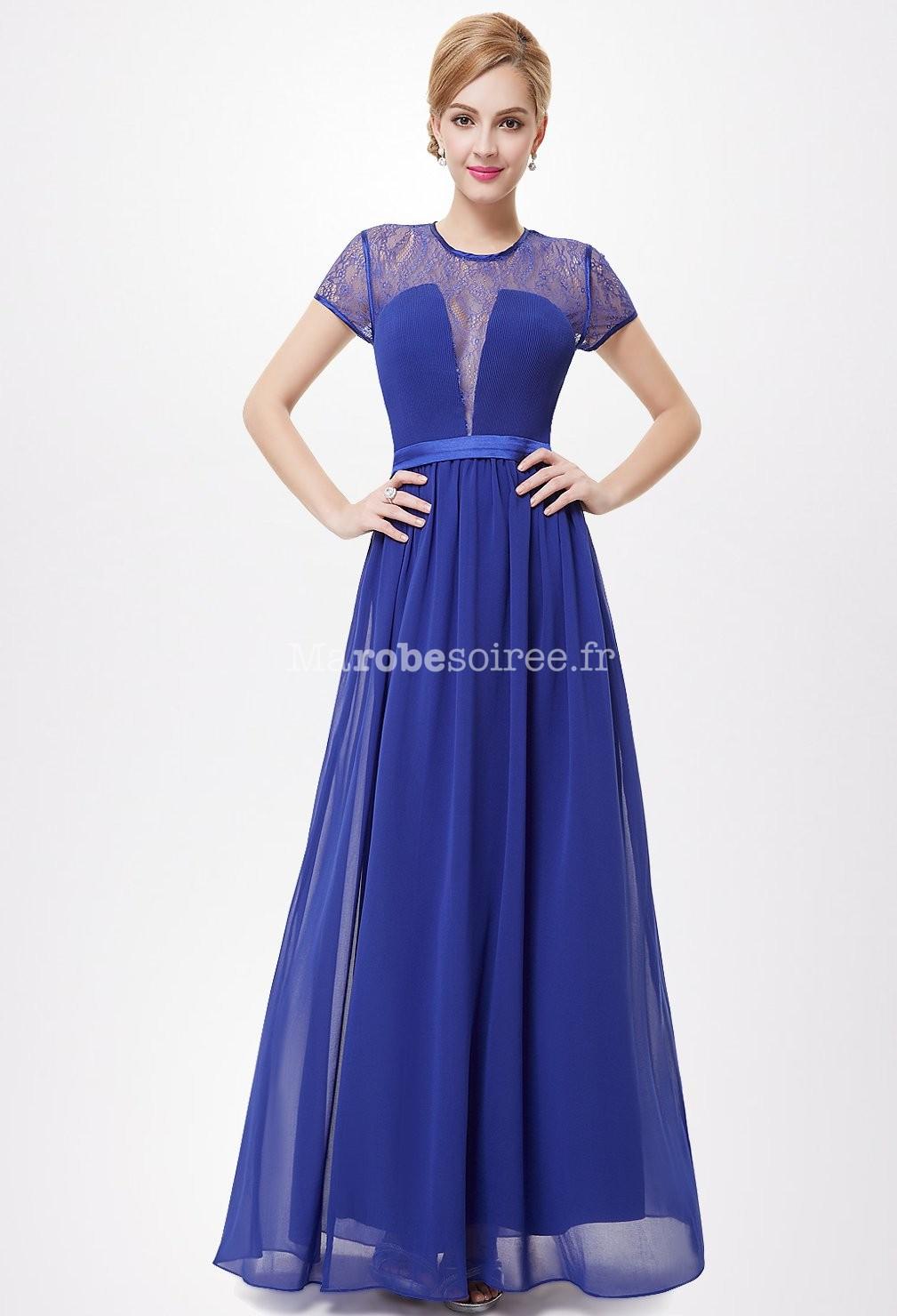 great blog robe robe habillee bleu roi. Black Bedroom Furniture Sets. Home Design Ideas