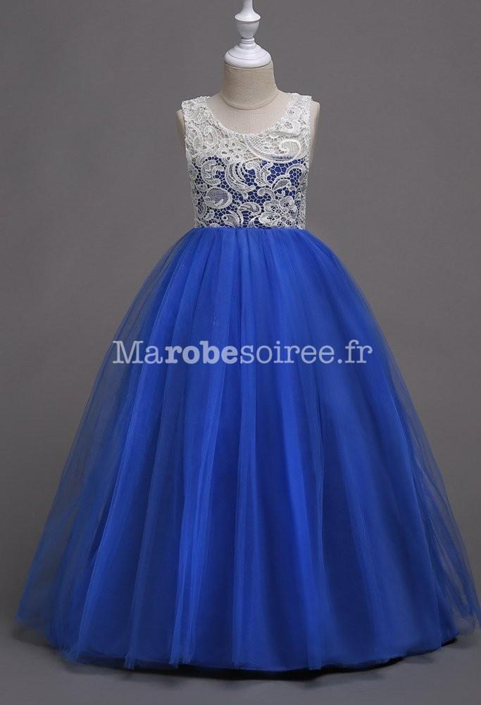 d26b0ea2ebc92 Robe de soirée pour fille princesse réf  EF569 en Coton