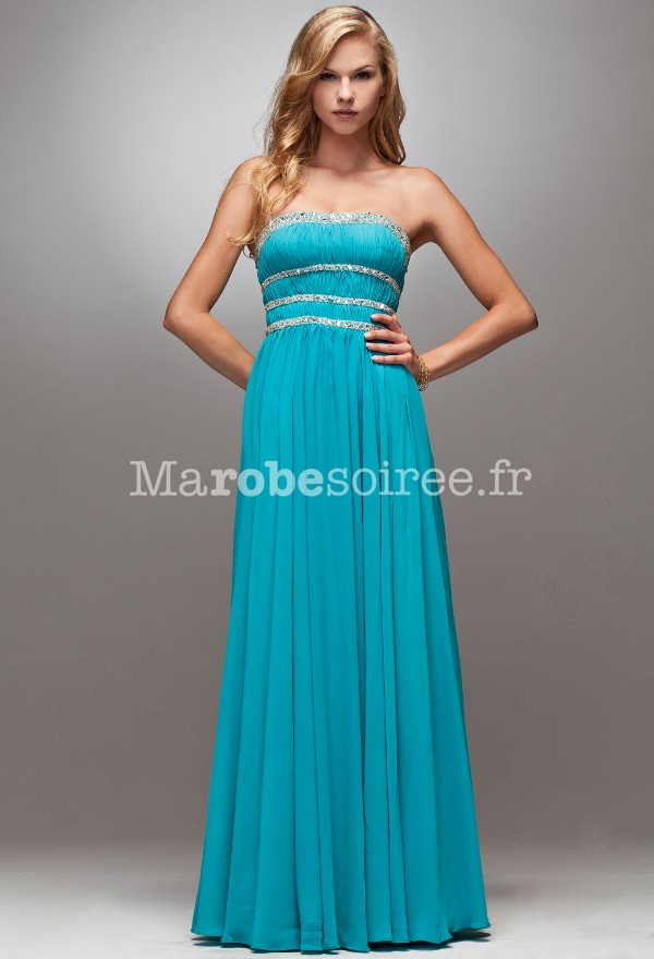 Robe longue cocktail marque