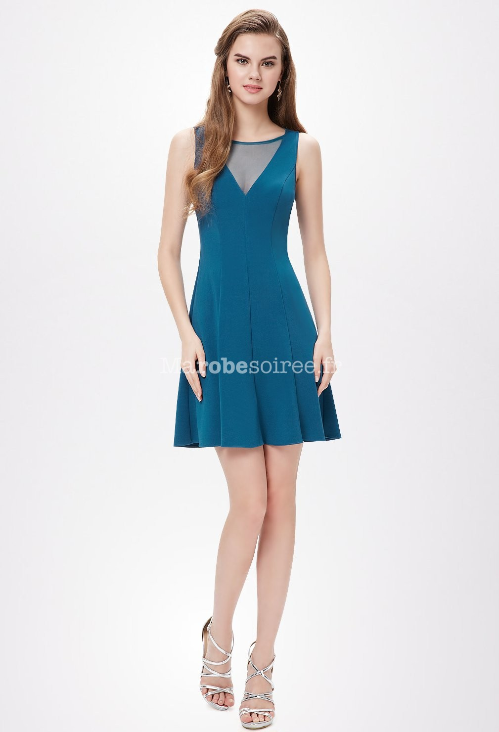 robe habillee pour mariage taille 46 - Robe Bleu Electrique Mariage