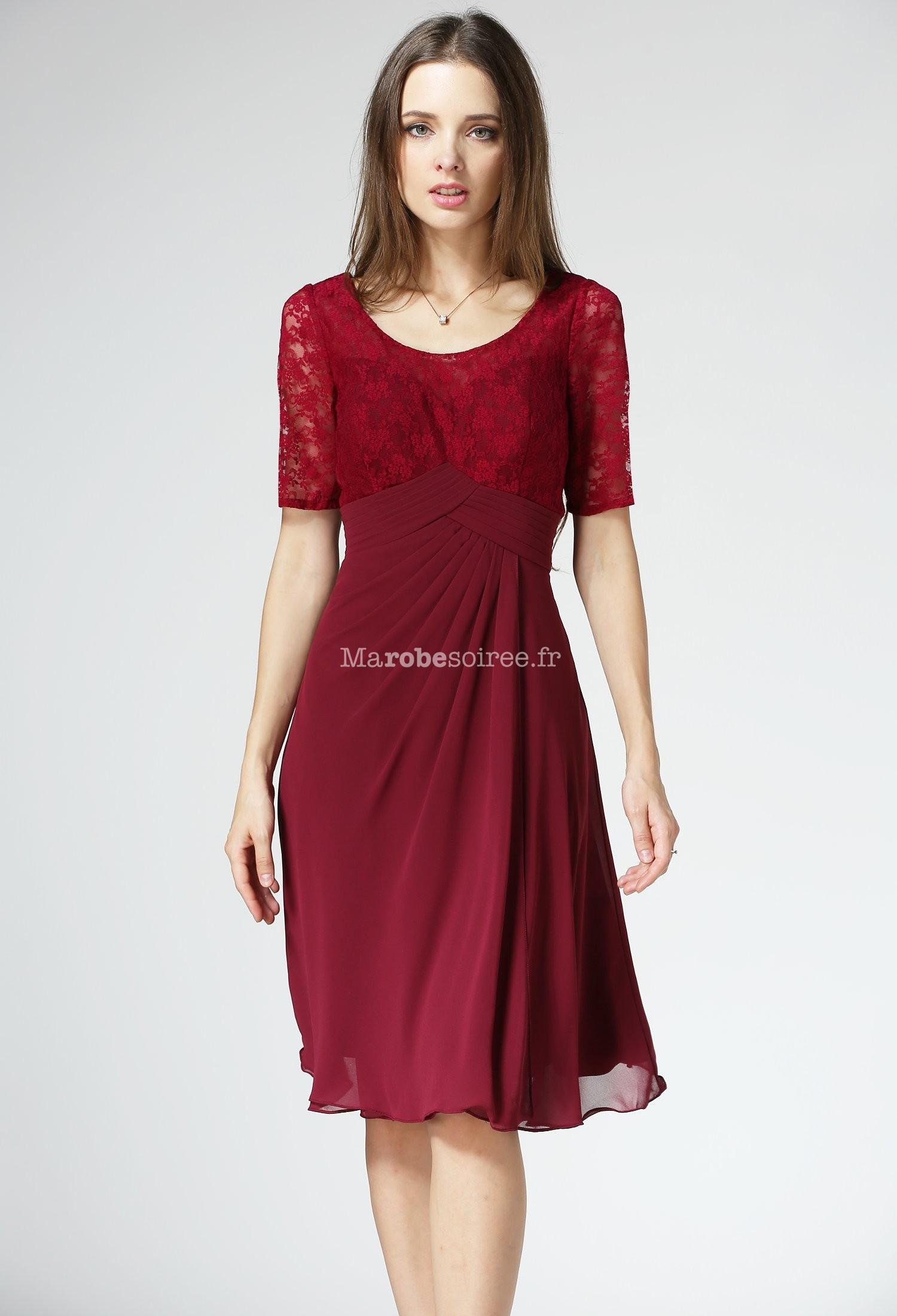 7c03a7ad52b ... bustier dentelle fleuri réf 1520. Robe de mère de mariée courte  Robe  de mère de mariée manches courtes ...