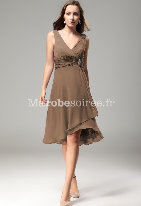 Robe cocktail empire du mariage