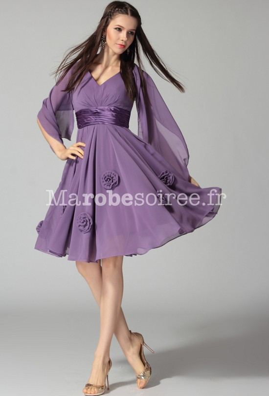 Robe cocktail fluide pas cher