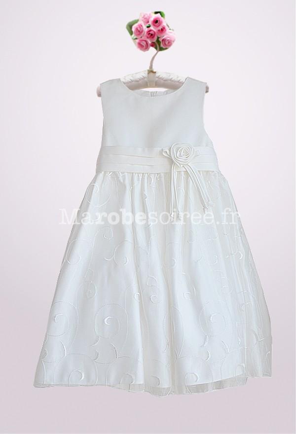 robe de cortège enfant ivoire