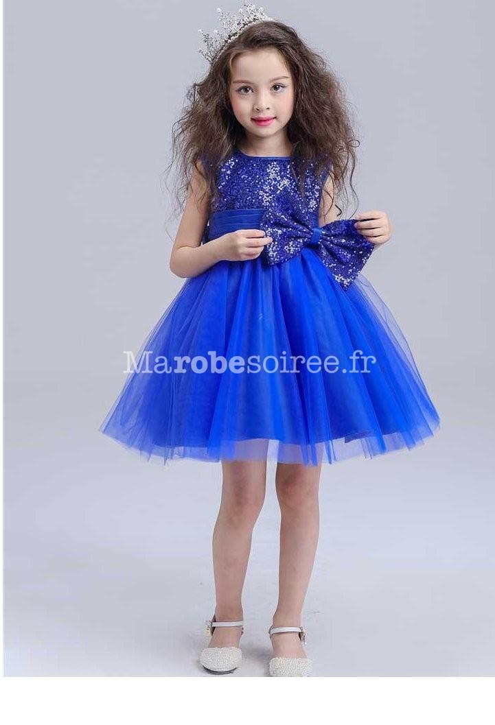 c71332ae235c3 Robe de soirée courte rouge pour fille; Bleu; Rouge; Petite ...