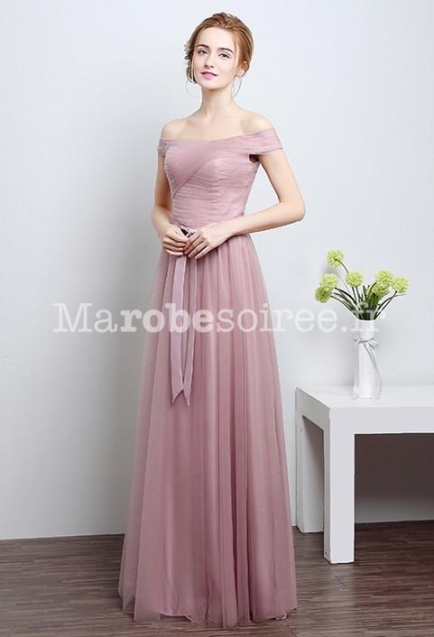 robe de demoiselle d 39 honneur bretelles. Black Bedroom Furniture Sets. Home Design Ideas
