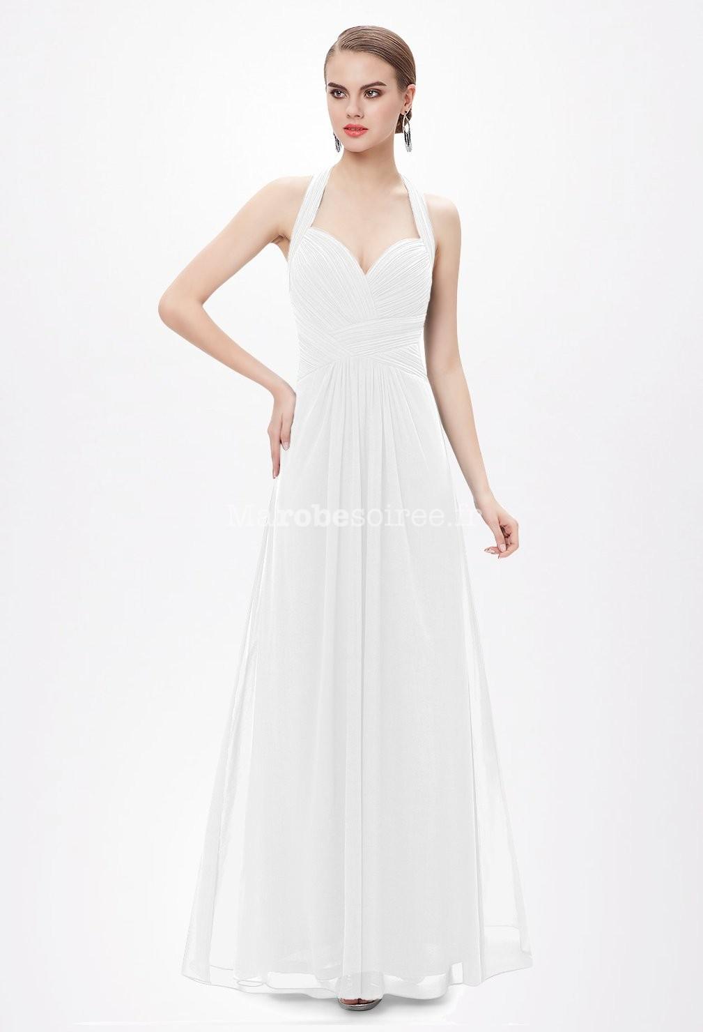 Accueil / Robe de mariée simple et fluide dos nu réf EP8487