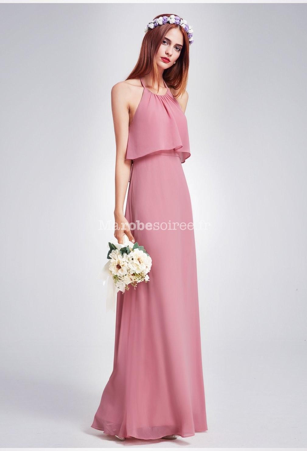 b8802994453 Robe cocktail couleur vieux rose – Robes de soirée populaires en France