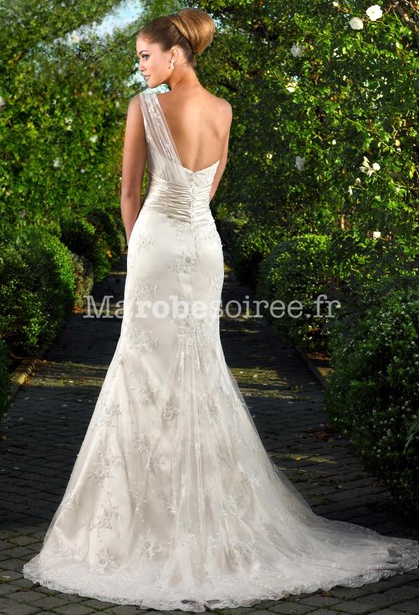 Accueil / Déstockage - Robe de mariée sirène broderie fine ...