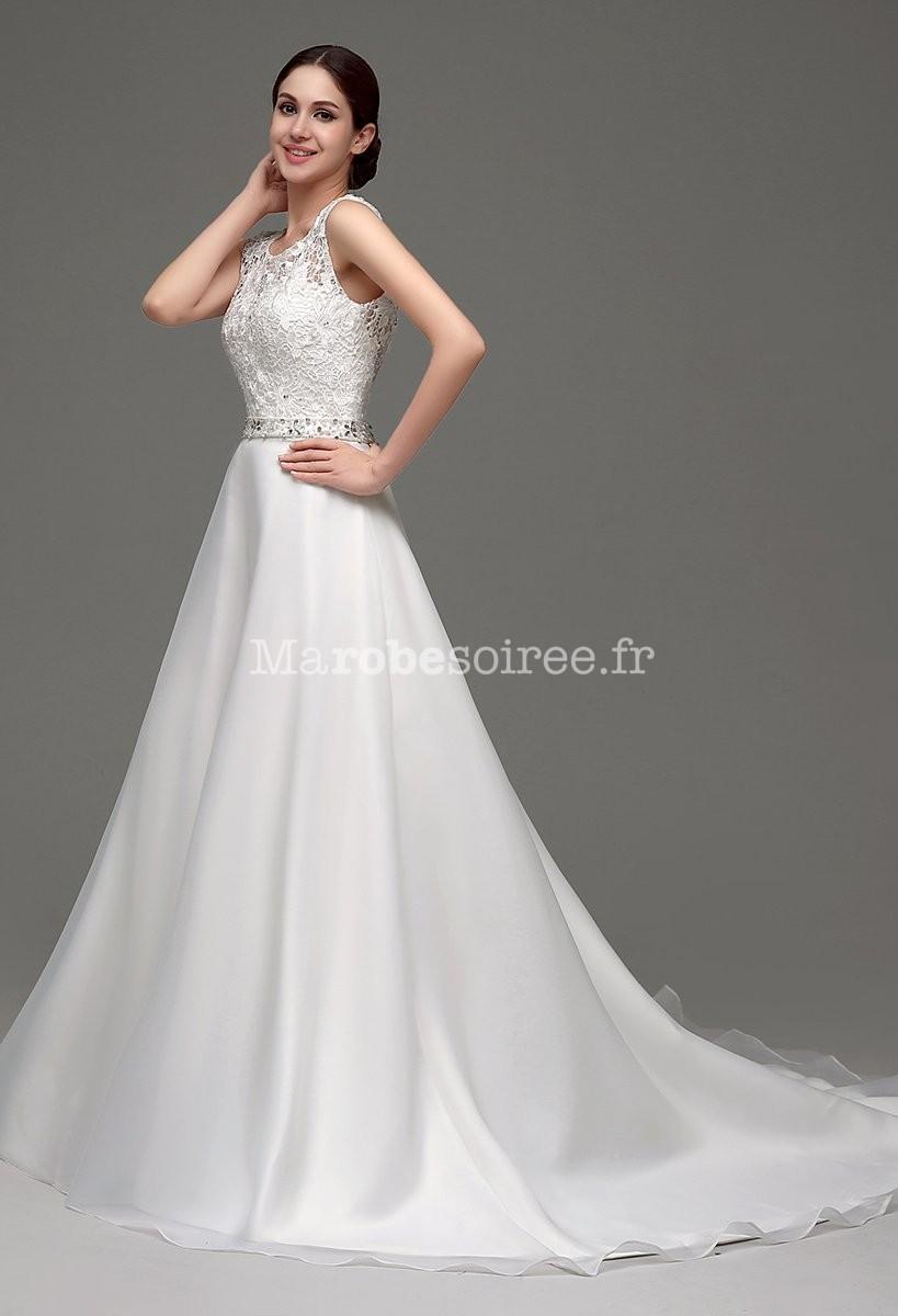 ... Robe de mariée princesse avec traîne ... 70b0a7a3d62