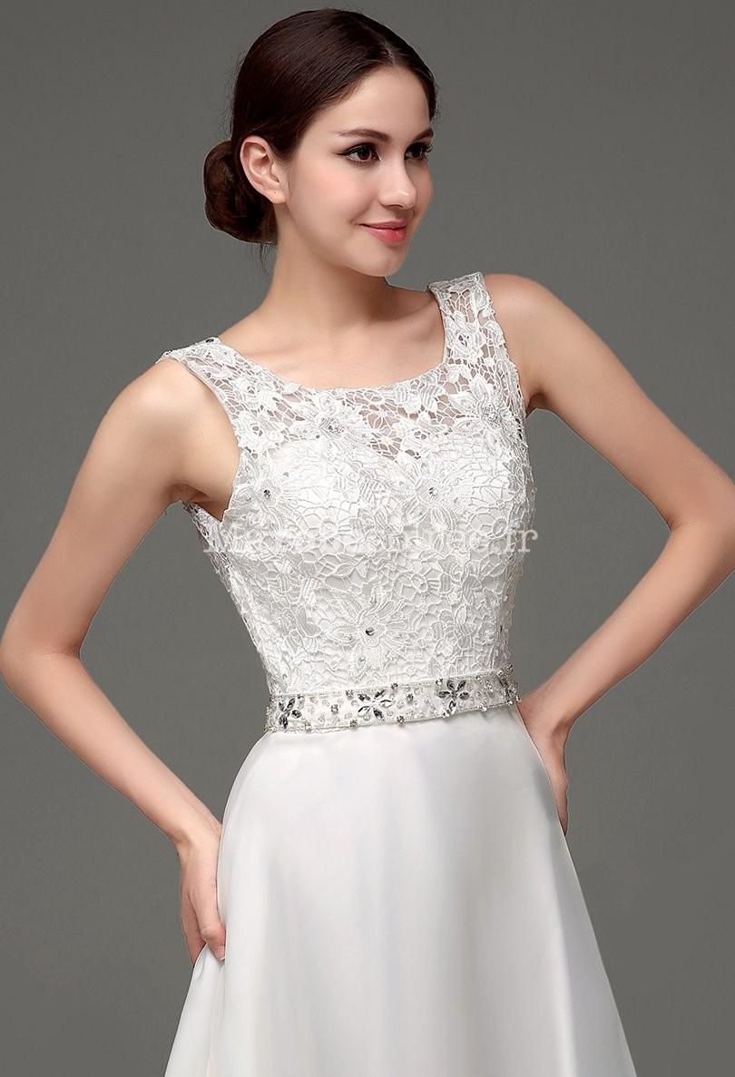 Robe de mariée romantique coupe évasée 64bcc3f6c83