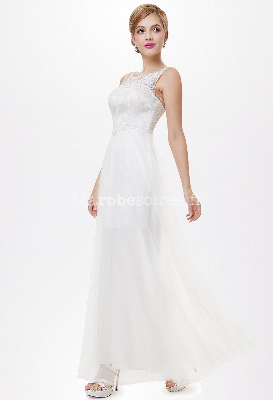 a38f76c3e4 ... simple et élégante avec broderies réf EP8447. élégance; bustier;  broderies; dos; robe mariée fluide ...