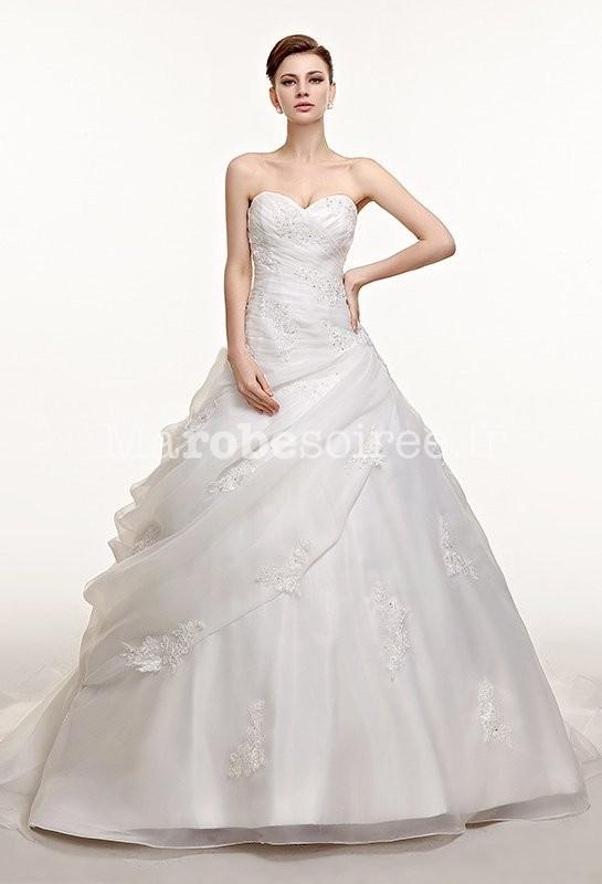 Robe de mariee princesse a nice