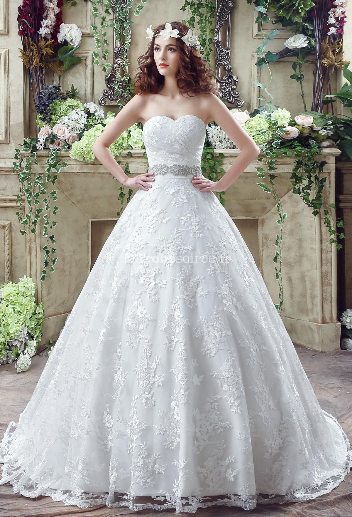 Par Engsheden a cr la robe de marie de la princesse