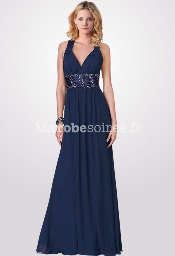 robes de mode les robes soiree bleu. Black Bedroom Furniture Sets. Home Design Ideas