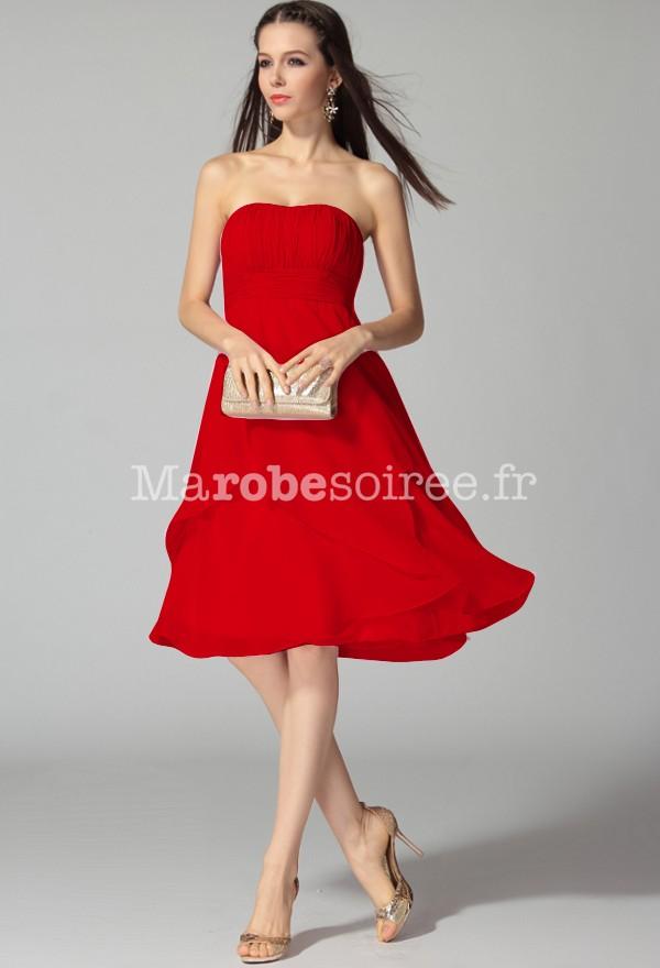 great blog robe robe de soiree courte bustier rouge. Black Bedroom Furniture Sets. Home Design Ideas