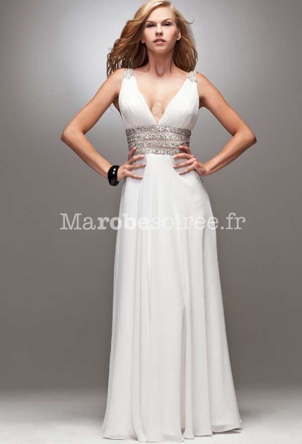 Robe cocktail l'empire du mariage