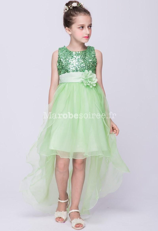 Robes de soiree enfant fashion designs for Robe vert aqua pour mariage