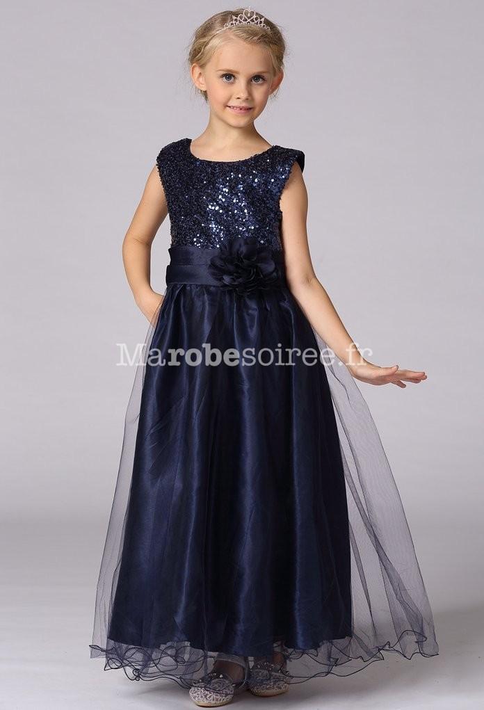 68cdd4071ff6d Robe de soirée fille enfant pas chère pour mariage