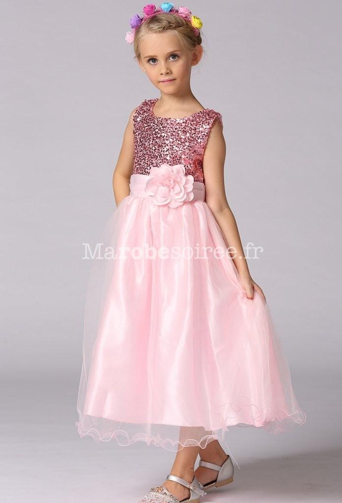 Robe de soir e pour fille scintillant for Robes de fille fantaisie pour les mariages