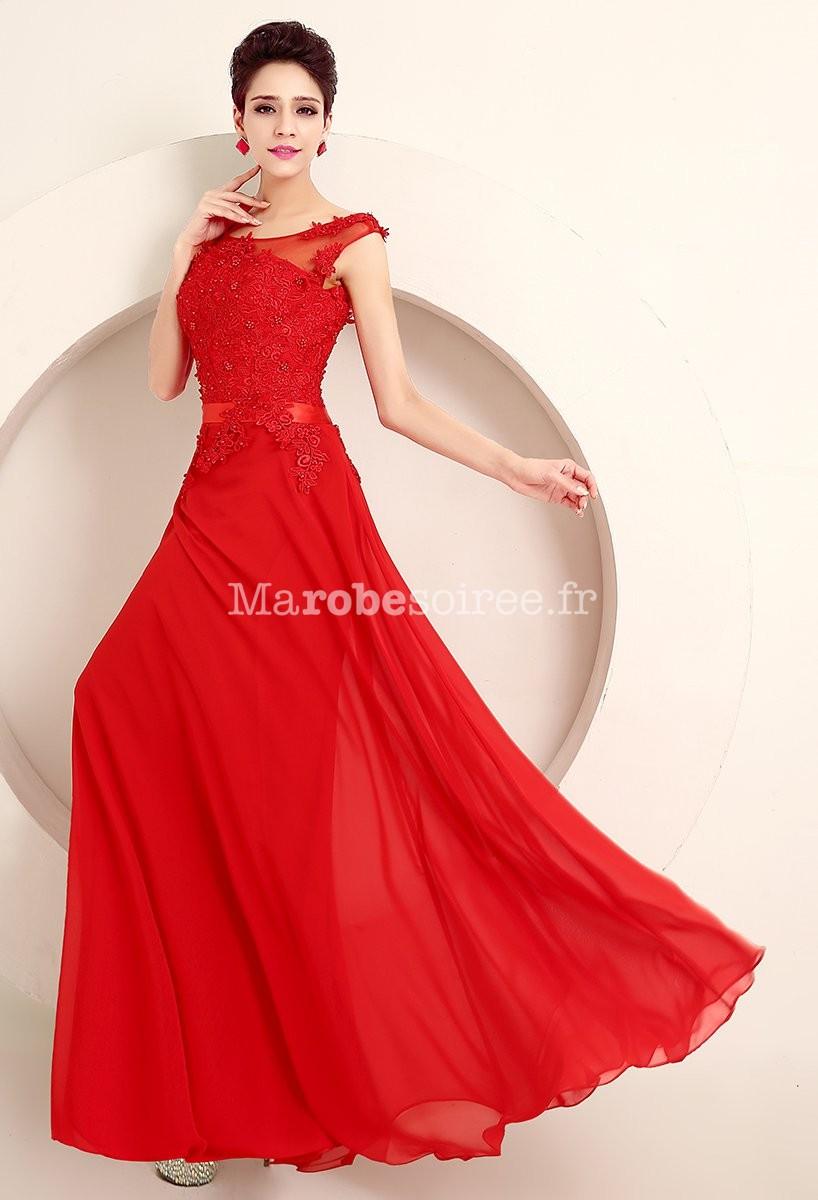 robe de ceremonie de mariage en mousseline la mode des robes de france. Black Bedroom Furniture Sets. Home Design Ideas