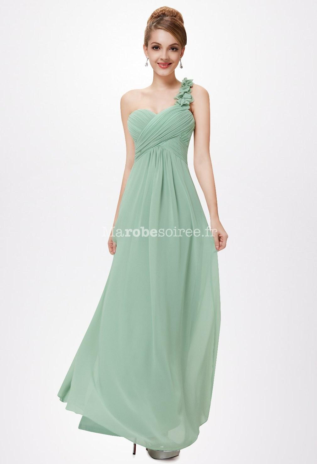 robe soiree vert d 39 eau la mode des robes de france. Black Bedroom Furniture Sets. Home Design Ideas