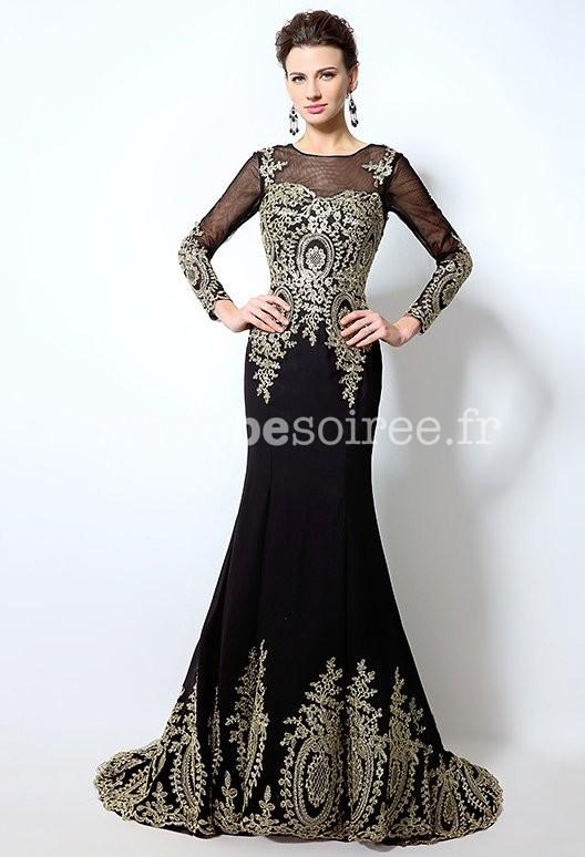 Robe de soiree style arabe