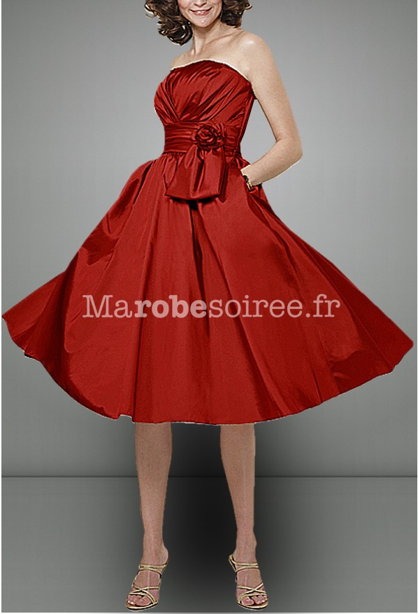 robe de soir e iman en taffetas style ann es 50 sur mesure. Black Bedroom Furniture Sets. Home Design Ideas