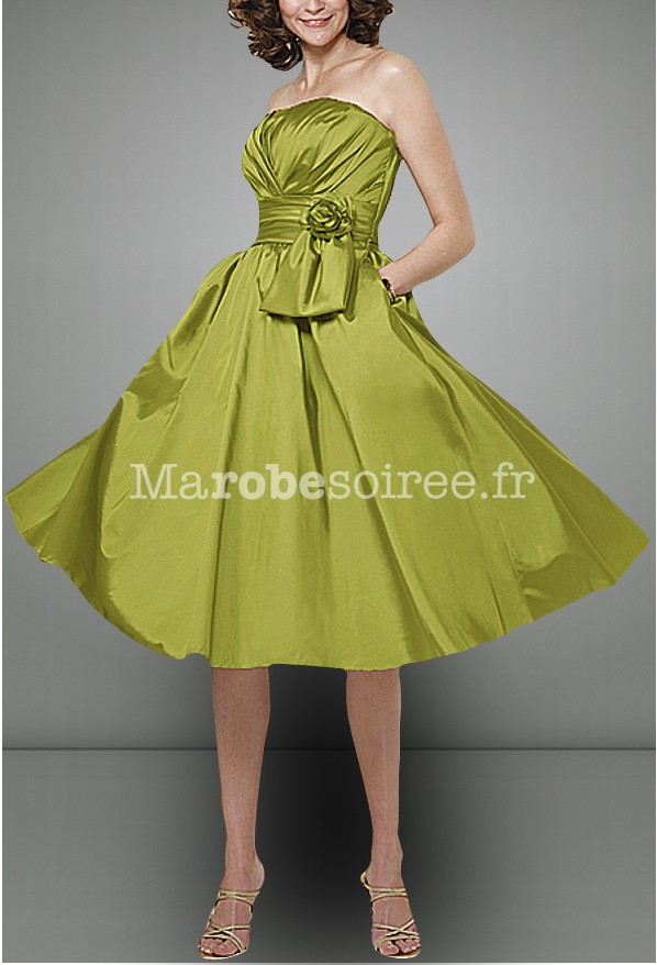 Robe cocktail style annee 50