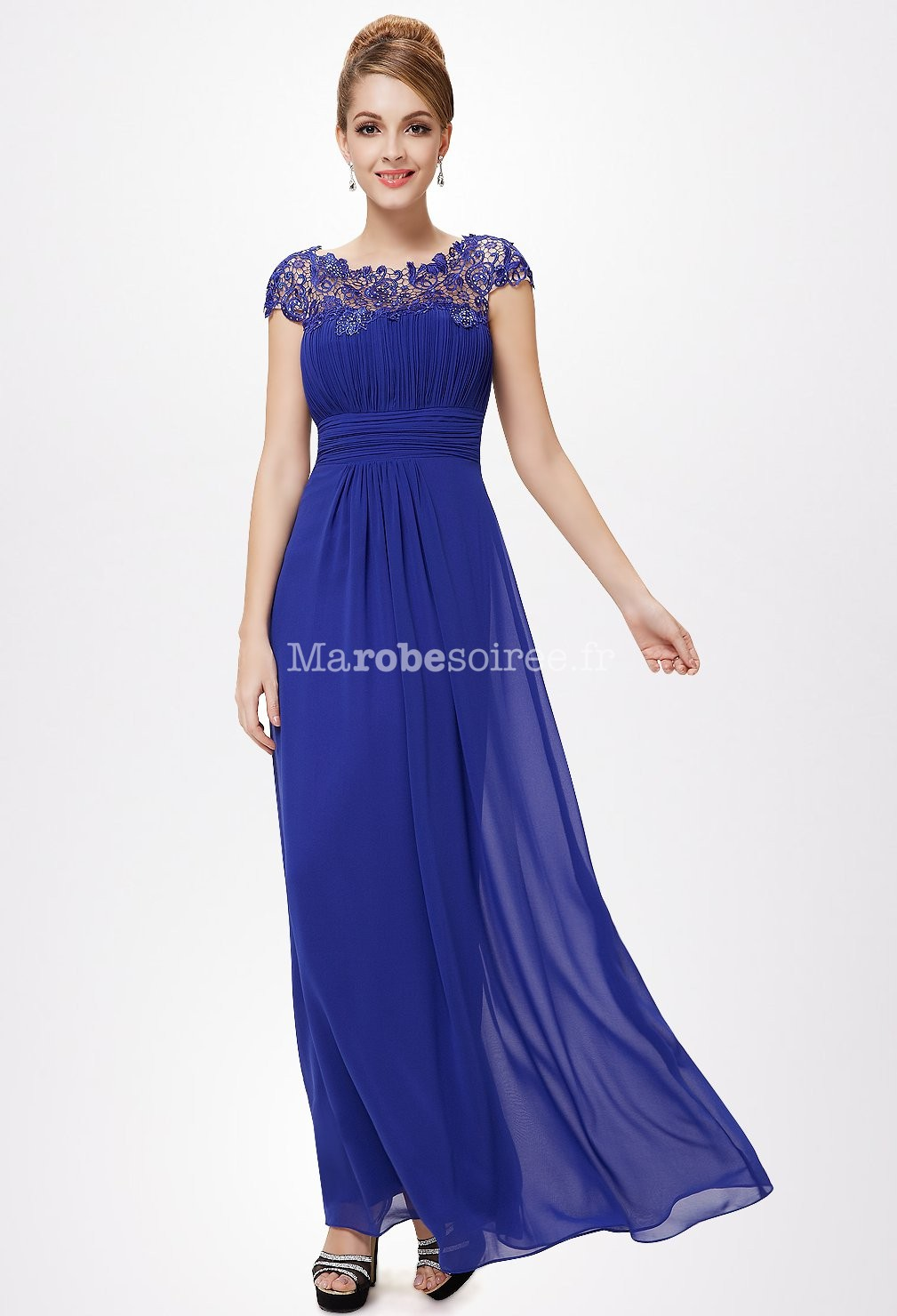 royal blue dress - 617×1280
