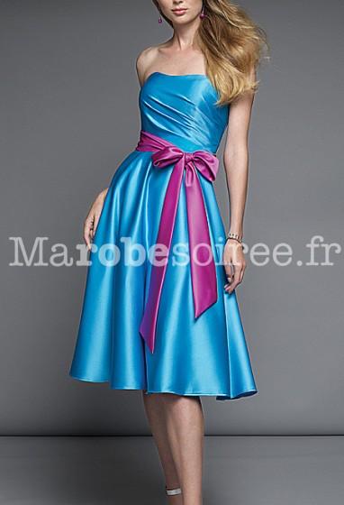 lily - robe de soirée cérémonie robe de mariage sur mesure 5007